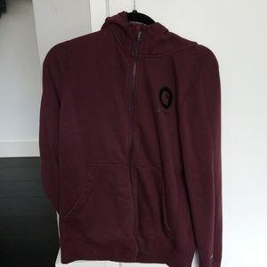 Maroon Carhartt jacket